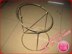 螺纹钢筋型大锅底座+3根支杆,整体镀锌锅盖专用底座架子